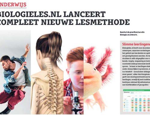 Biologieles.nl in Bionieuws